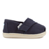 TOMS Toddlers' Seasonal Classics Slip-On Pumps - Navy: Image 1