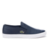 Lacoste Men's Gazon 316 1 Slip On Trainers - Navy: Image 1