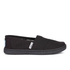 TOMS Kids' Seasonal Classics Slip-On Pumps - Black: Image 1