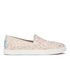 TOMS Kids' Avalon Slip-On Trainers - Natural Cheetah Foil: Image 1