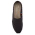 TOMS Women's Core Classics Slip-On Pumps - Black/Black: Image 3