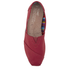 TOMS Women's Core Classics Slip-On Pumps - Red: Image 3