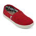 TOMS Kids' Seasonal Classics Slip-On Pumps - Red: Image 2
