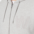 Wood Wood Men's Leonard Zipped Hoody - Grey Melange: Image 5
