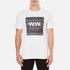 Wood Wood Men's Square T-Shirt - White: Image 1
