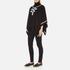 Boutique Moschino Women's Contrast Detail Cape Jumper - Black: Image 4