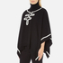 Boutique Moschino Women's Contrast Detail Cape Jumper - Black: Image 2