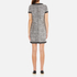 Boutique Moschino Women's Tweed Embellished Dress - Black: Image 3