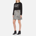 Boutique Moschino Women's Chic Knitted Jumper - Black: Image 4