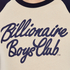 Billionaire Boys Club Men's Script Logo Raglan T-Shirt - Beige/Navy: Image 5