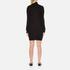 Love Moschino Women's Polo Neck Heart Jumper Dress - Black: Image 3