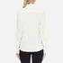 Love Moschino Women's Silver Heart Pendant Shirt - White: Image 3
