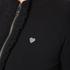 Love Moschino Women's Silver Heart Pendant Zip Jumper Dress - Black: Image 4