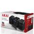 Akai A60002B CD Micro Hi-Fi System - Black: Image 3