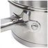 Swan Saucepan Set - Stainless Steel - 16/18/20cm (3 Piece): Image 4