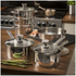 Swan Pan Set with Pouring Spouts - Stainless Steel: Image 2