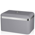 Swan Retro Bread Bin - Grey: Image 1