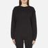 McQ Alexander McQueen Women's Classic Tonal Sweatshirt - Darkest Black: Image 1