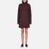 McQ Alexander McQueen Women's Turtleneck Dress - Port: Image 1
