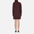 McQ Alexander McQueen Women's Turtleneck Dress - Port: Image 3
