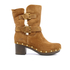 UGG Women's Brea Clog Suede Buckle Boots - Chestnut: Image 1