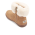 UGG Toddlers' Jorie II Sheepskin Collar Suede Boots - Chestnut: Image 4