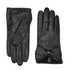 Ted Baker Women's Lynna Large Bow Leather Gloves - Black: Image 1