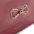 Ted Baker Women's Gerri Geometric Bow Top Handle Bag - Purple: Image 3