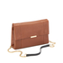 Ted Baker Women's Parson Small Flap Crossbody Bag - Brown: Image 2
