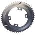 AbsoluteBLACK 110BCD 4 Bolt Spider Mount Aero Oval Chain Ring (Premium): Image 5