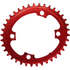 AbsoluteBLACK CX 110BCD 4 Bolt Shimano Spider Mount Oval Chain Ring: Image 5