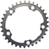 AbsoluteBLACK 110BCD 5 Bolt Spider Mount Oval Chain Ring (Training): Image 1