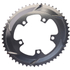 AbsoluteBLACK 110BCD 5 Bolt Spider Mount Aero Oval Chain Ring (Training): Image 2