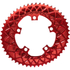 AbsoluteBLACK 110BCD 5 Bolt Spider Mount Aero Oval Chain Ring (Premium): Image 3