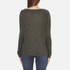 Superdry Women's Slubby Graphic Knitted Jumper - Khaki Twist: Image 3
