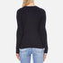 Superdry Women's Luxe Mini Cable Knit Jumper - Navy: Image 3