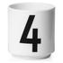Design Letters Espresso Cup - 4: Image 1