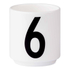 Design Letters Espresso Cup - 6: Image 1