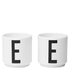 Design Letters Egg Cups - Set Of 2: Image 1