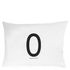 Design Letters Pillowcase - 70x50 cm - O: Image 1