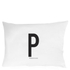 Design Letters Pillowcase - 70x50 cm - P: Image 1