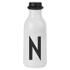 Design Letters Water Bottle - N: Image 1
