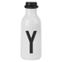 Design Letters Water Bottle - Y: Image 1