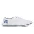 Henleys Men's Stash Canvas Pumps - White: Image 1