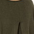 French Connection Women's Viva Vhari Long Sleeve Roundneck Jumper - Dark Olive Night: Image 6