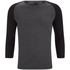 Produkt Men's 3/4 Sleeve Raglan Top - Dark Grey Melange: Image 1