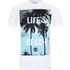 Hot Tuna Men's Life's A Beach T-Shirt - White: Image 1