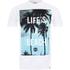 T-Shirt Homme Hot Tuna Life's A Beach - Blanc: Image 1