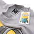 Minions Men's Large Stuart T-Shirt - Grey Marl: Image 3