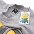 Minions Mens Large Stuart T-Shirt - Grijs Melange: Image 3